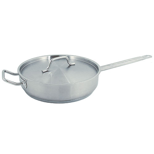 Update Stainless Steel Sauté Pan -3 Qt SSAU-3
