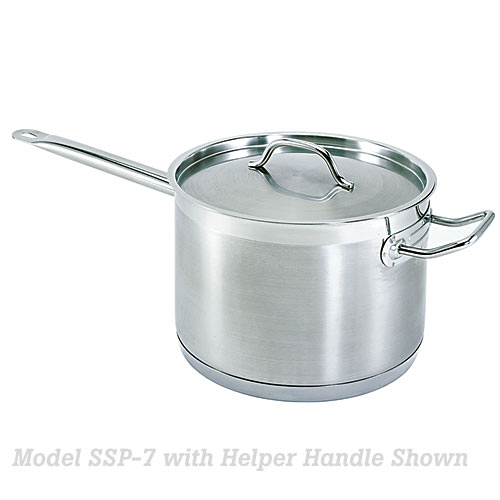 Update Stainless Steel Sauce Pan - 3 Qt SSP-3