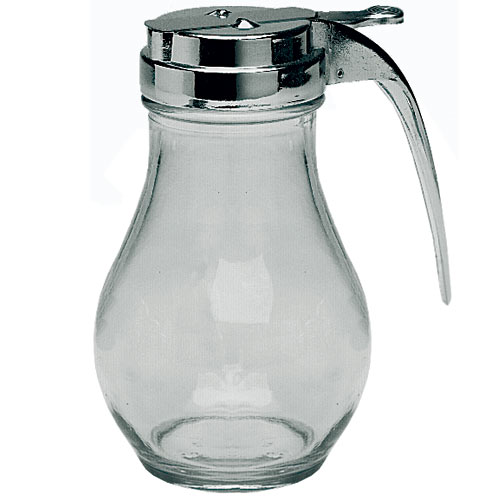 Update Glass Syrup Dispensers - 12 oz SYDP-12