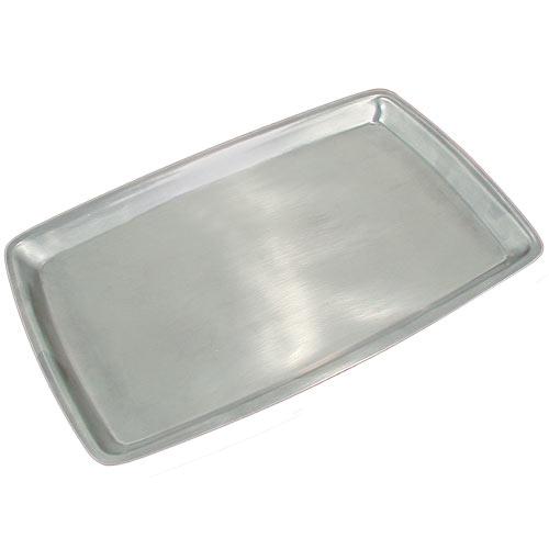 "Update Stainless Steel Sizzling Platter - 11""x7 1/8"" SZP-138"