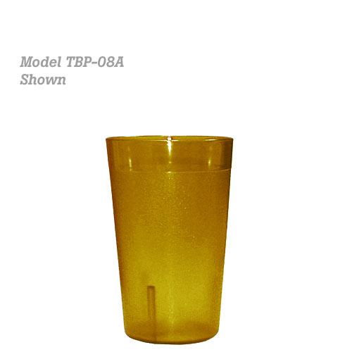 Update Amber Plastic Tumbler - 5 oz TBP-05A
