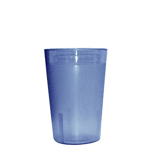 Update Blue Plastic Tumbler - 10 oz TBP-10B