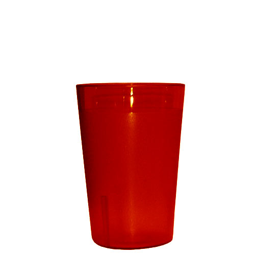 Update Red Plastic Tumbler - 10 oz TBP-10R