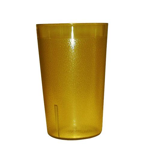 Update Amber Plastic Tumbler - 12 oz TBP-12A