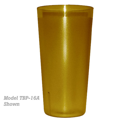 Update Amber Plastic Tumbler - 20 oz TBP-20A
