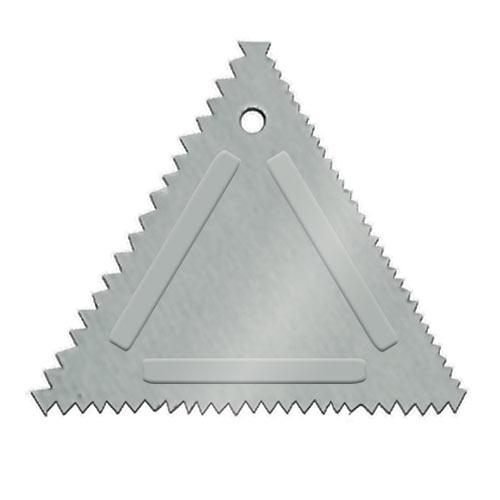 Update Aluminum Triangular Cake Decorating Comb TDC-AL