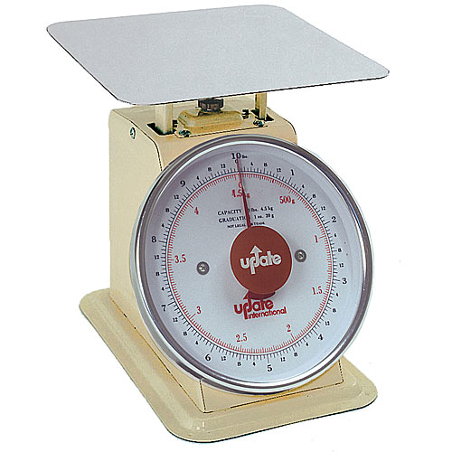 "Update 8"" Dial Portion Scale - 10 lb UP-810"