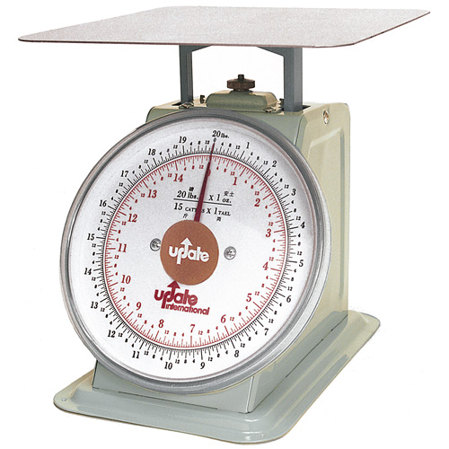 "Update 8"" Dial Portion Scale - 20 lb UP-820"