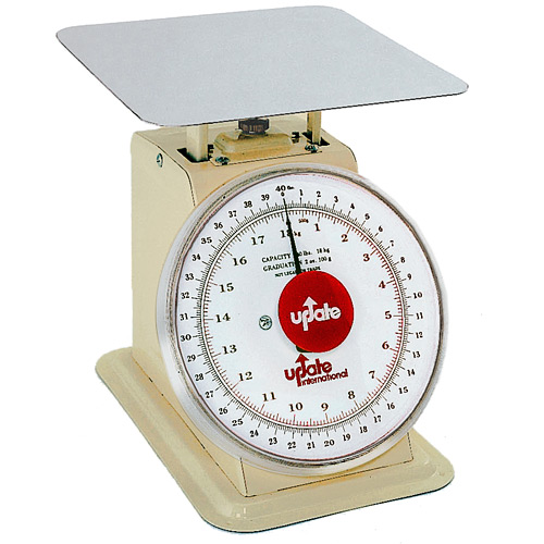 "Update 8"" Dial Receiving Scale - 40 lb UP-840"