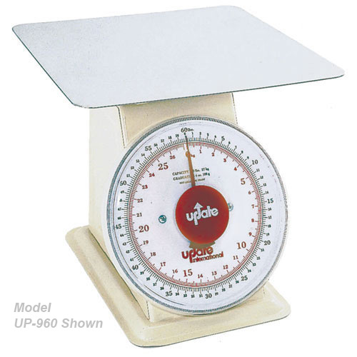 "Update 9"" Dial Receiving Scale - 60 lb UP-960"