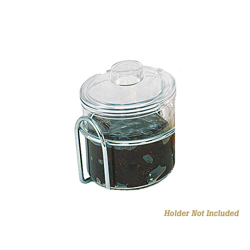 Update Plastic Condiment Jar w/Cover - 7 oz CJ-7AC