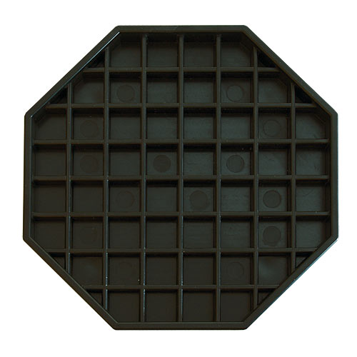 Update Black Octagon Drip Tray DT-6X6