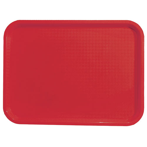 "Update Red Fast Food Tray - 10"" X 14"" FFT-1014RD"