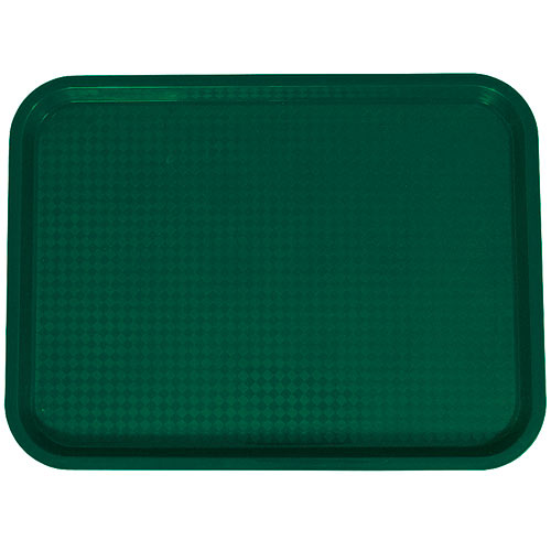 "Update Green Fast Food Tray - 14"" X 18"" FFT-1418GR"