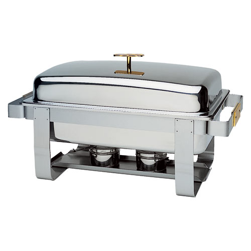 Update Gold Accented Grandeur Chafer - 8 Qt GC-7