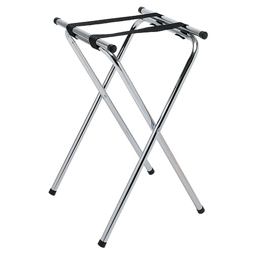 Update Chrome Plated Tray Stand - 31&quot; TSC-31