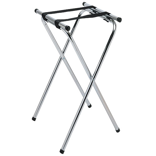 "Update Chrome Plated Tray Stand - 37"" TSC-37"