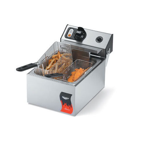 Vollrath Cayenne Countertop 10lb Standard Duty Electric Fryer 40705