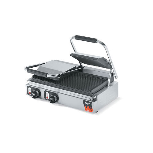 Vollrath Cayenne Cast Iron Plate Sandwich Presses, Panini Style - Double 40795