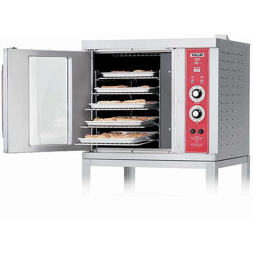 Vulcan Single Deck Half Size Electric Convection Oven ECO2D