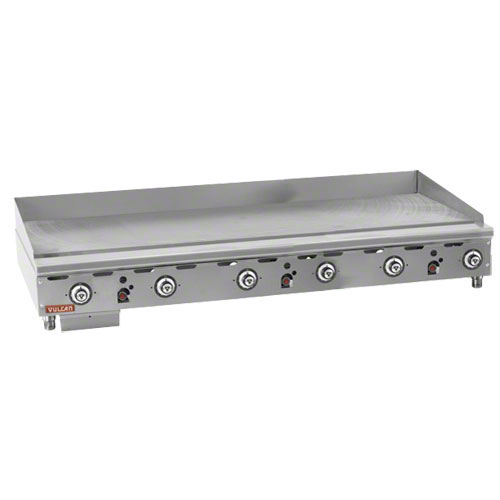"Vulcan 72"" Heavy Duty Gas Griddle MSA72"