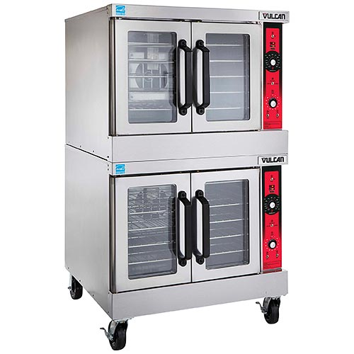 Vulcan Double Deck Full Size Gas Convection Oven SG44