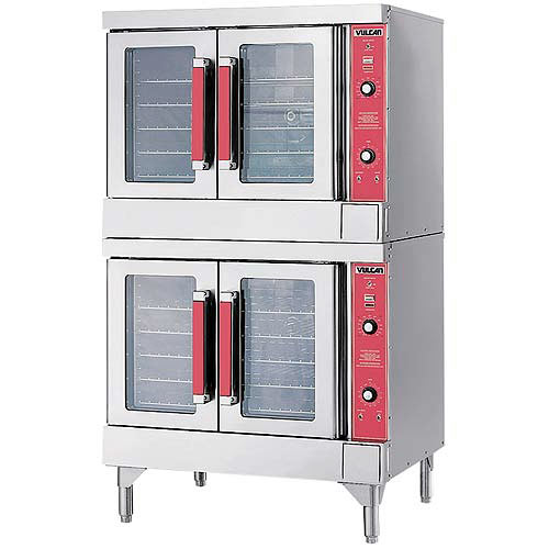 Vulcan Double Deck Full Size Electric Convection Oven VC44ED