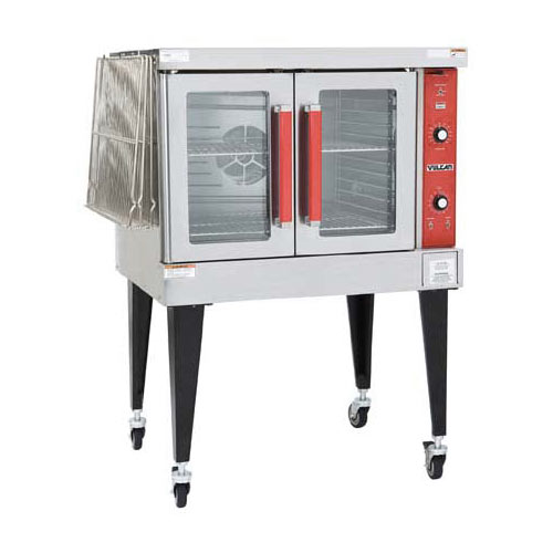 Vulcan Single Deck Full Size Electric Convection Oven VC4ED