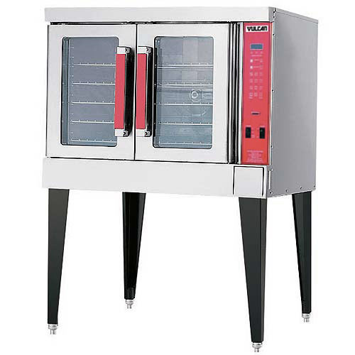 Vulcan Single Deck Full Size Gas Convection Oven VC4GC