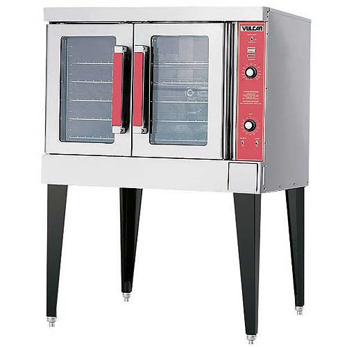 Vulcan Single Deck Full Size Gas Convection Oven VC4GD
