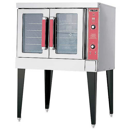 Vulcan Single Deck Full Size Convection Oven VC6ED