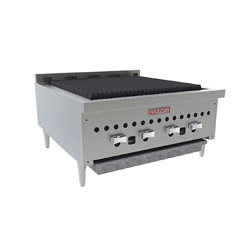 "Vulcan 25"" Low Profile Gas Charbroiler VCCB25"