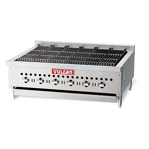 "Vulcan 36"" Low Profile Gas Charbroiler VCCB36"