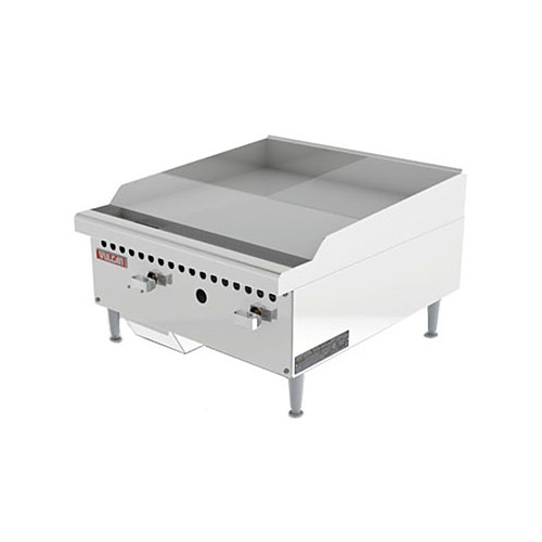 "Vulcan 24"" Restaurant Series Manual Gas Griddle VCRG24-M"