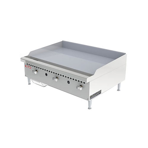 "Vulcan 36"" Restaurant Series Manual Gas Griddle VCRG36-M"
