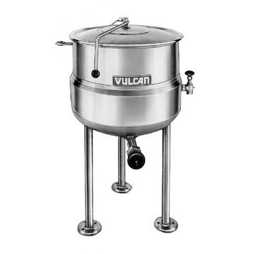Vulcan Direct Steam Jacketed Stationary Kettle - 40 Gallon K40DL