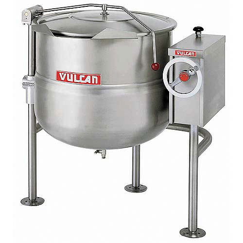 Vulcan Direct Steam Jacketed Tilting Kettle - 20 Gallon K20DLT