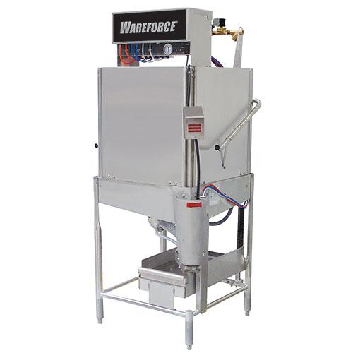 Wareforce Chemical Sanitizing Door Type Dishwasher - Single Rack WAREFORCE I-X