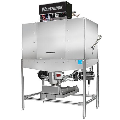 Wareforce Chemical Sanitizing Door Type Dishwasher - Double Rack WAREFORCE II