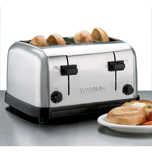 Waring Commercial Pop Up Toaster Medium Duty - 4 Slices  WCT708