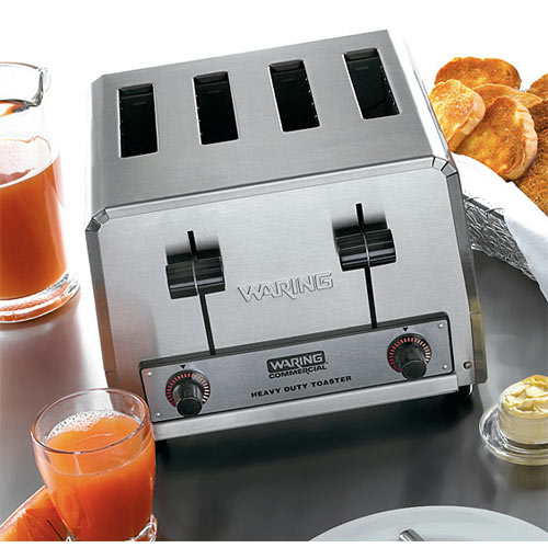Waring Pop Up Toaster Heavy Duty - 4 Slices  WCT800