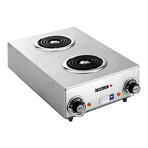 Wells Electric Countertop Hotplate - Double Spiral Element H-115