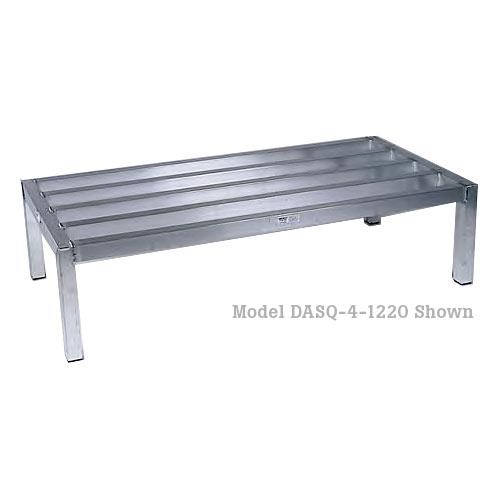 "Win-Holt Economy Tubular Dunnage Rack - 20"" x 36"" DASQ-3-1220"