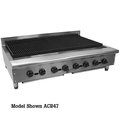 "Wolf 60"" Achiever Gas Radiant Charbroiler ACB60"