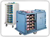 Meal Tray Delivery Carts