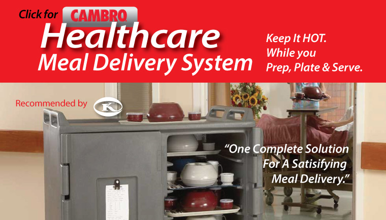 Cambro Healthcare Meal Delivery Systems